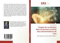 Portada del libro de Usages du numérique dans le parcours d'achat des consommateurs de luxe
