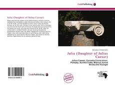 Julia (Daughter of Julius Caesar)的封面
