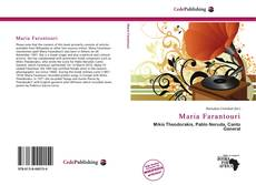 Bookcover of Maria Farantouri