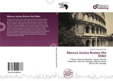 Couverture de Marcus Junius Brutus the Elder