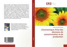 Buchcover von L'Economique; Prise des décisions de consommation et de production
