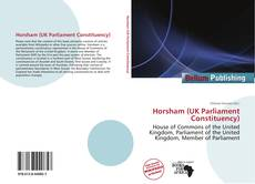 Horsham (UK Parliament Constituency) kitap kapağı