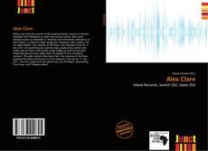 Alex Clare kitap kapağı