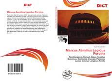 Capa do livro de Marcus Aemilius Lepidus Porcina