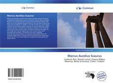 Обложка Marcus Aurelius Scaurus