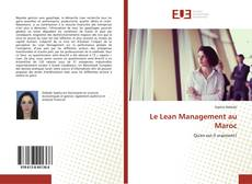 Bookcover of Le Lean Management au Maroc