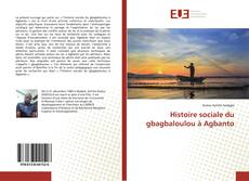 Bookcover of Histoire sociale du gbagbaloulou à Agbanto