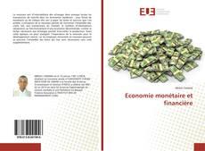 Bookcover of Economie monétaire et financière