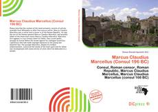 Buchcover von Marcus Claudius Marcellus (Consul 196 BC)