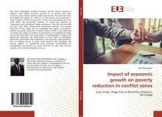 Buchcover von Impact of economic growth on poverty reduction in conflict zones