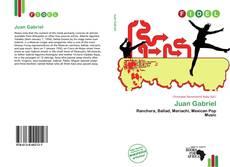 Capa do livro de Juan Gabriel