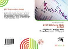 Capa do livro de 2007 Oklahoma State Budget