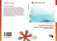Bookcover of Timbisha (Langue)