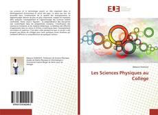 Couverture de Les Sciences Physiques au Collège