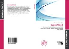 Bookcover of Duane Wood