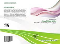 Обложка John Milton Miller