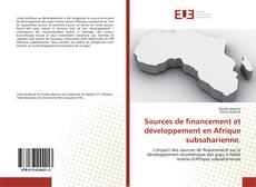 Capa do livro de Sources de financement et développement en Afrique subsaharienne.