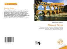 Copertina di Marcus Titius
