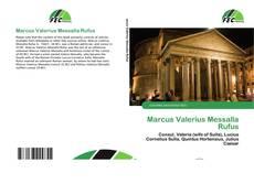 Buchcover von Marcus Valerius Messalla Rufus