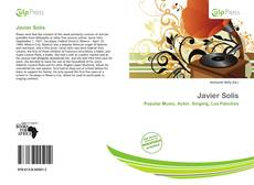 Bookcover of Javier Solís
