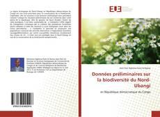 Buchcover von Données préliminaires sur la biodiversité du Nord-Ubangi