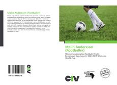 Bookcover of Malin Andersson (Footballer)