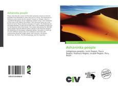 Bookcover of Asháninka people