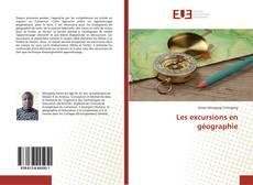 Portada del libro de Les excursions en géographie