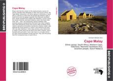 Cape Malay的封面