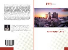 Bookcover of AccorHotels 2016