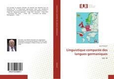Linguistique comparée des langues germaniques kitap kapağı