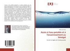 Обложка Accès à l'eau potable et à l'assainissement au Sénégal