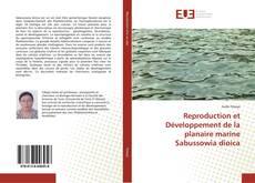 Обложка Reproduction et Développement de la planaire marine Sabussowia dioica