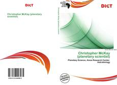 Bookcover of Christopher McKay (planetary scientist)