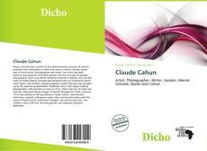 Borítókép a  Claude Cahun - hoz