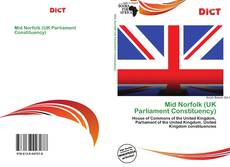 Bookcover of Mid Norfolk (UK Parliament Constituency)