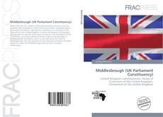 Buchcover von Middlesbrough (UK Parliament Constituency)