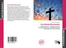 Buchcover von Archibald Alexander