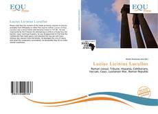 Couverture de Lucius Licinius Lucullus