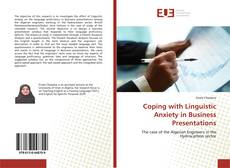 Borítókép a  Coping with Linguistic Anxiety in Business Presentations - hoz