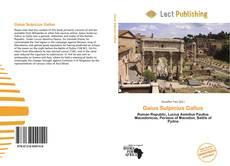 Buchcover von Gaius Sulpicius Gallus