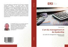 Portada del libro de L'art du management et du leadership
