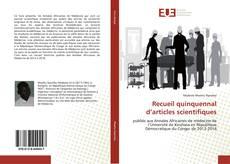 Recueil quinquennal d'articles scientifiques的封面