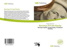 Bookcover of Barclays Private Equity