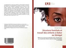 Portada del libro de Structure familiale et travail des enfants à Dakar au Sénégal