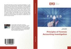Buchcover von Principles of Forensic Accounting Investigation