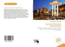 Portada del libro de Lucius Cincius Alimentus
