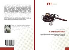 Bookcover of Contrat médical