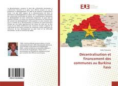 Borítókép a  Décentralisation et financement des communes au Burkina Faso - hoz