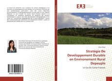 Bookcover of Stratégie De Developpement Durable en Environement Rural Depeuple